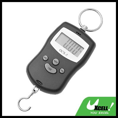 10KG LB Fishing Luggage Postal Digital Crane Hanging Scale