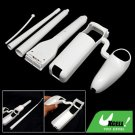 White Fishing Pole Rod for Wii Sport Game Remote Control