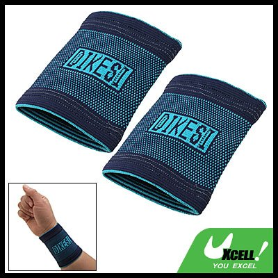 1 Pair Sports Gym Elastic Wrist Support Protector