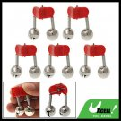 Twin Bells Sea Fishing Rod Tip Bite Alarm 5 pieces