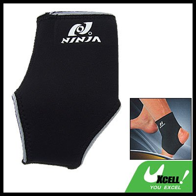 Sports Neoprene Ankle Support Brace Wrap Protector Size M