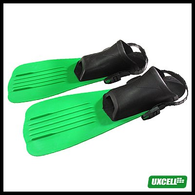 NEW Surf Surfing Diving Swimming Gear Fins Flippers - Green