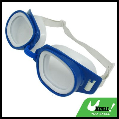 Swimming Swim Goggles Smart Glasses with Blue Frame