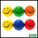 Toy Ball - Rubber Foam Balls for Swimming/ Indoor Play 6 PCS - green/yellow/blue/red***/
