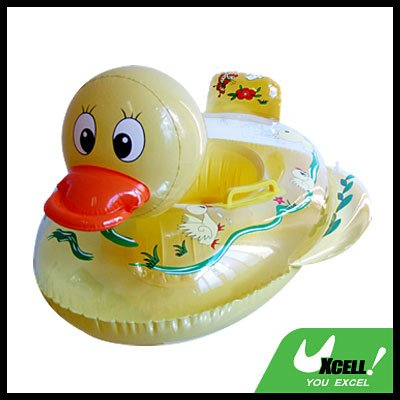 Inflatable Swimming Duck Float Ring for Kids