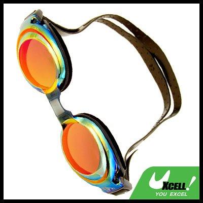 Fashion Swim Swimming Pool Silicone Goggles Anti Fog