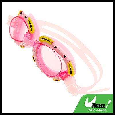 Crab Kids Children Swim Swimming Pool Goggles Pink