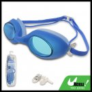 Fashion Blue Kids Swimming Pool Swim Goggles Anti Fog