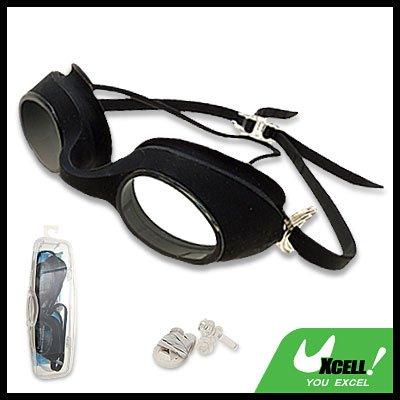 G-288 Black Swim Swimming Silicone Water Children Goggles