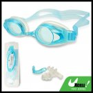 F508 Light Blue Swim Swimming Goggles