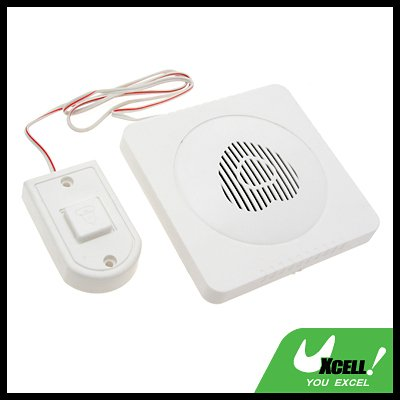 Electronic Doorbell Chime Bell - White