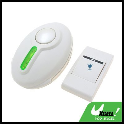 Wireless Flash Light Remote Control Chime Doorbell