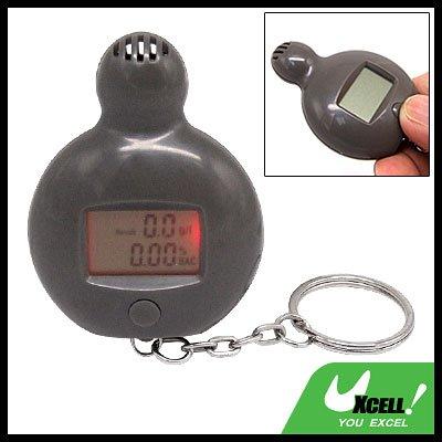 Mini Digital Alcohol Breath Tester Analyzer Keychain
