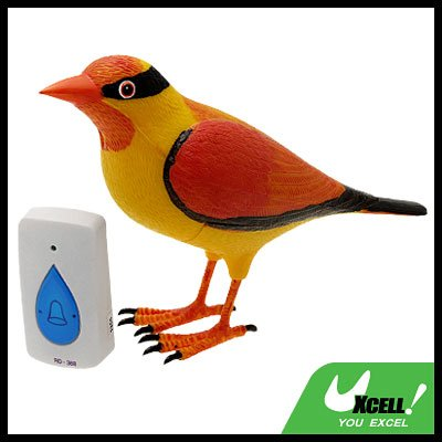 Wireless Sparrow Bird Remote Control Chime Doorbell