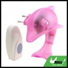 Wireless Rouge Dolphin Doorbell Night Light(German Plug)