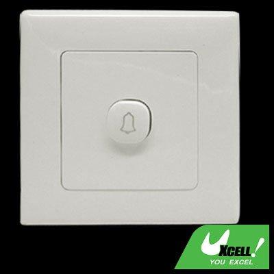 Wall Mount Doorbell Door Bell Cover Plate Button Switch