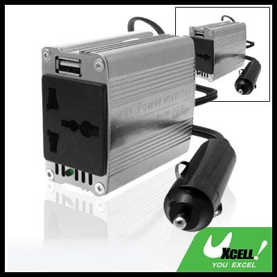 Car Vehicle DC 12V to AC 220V Power Inverter Charger Adapter 100W with USB Port