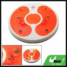 Orange Foot Massage Magnetic Figure Twister Trimmer Waist Exercise