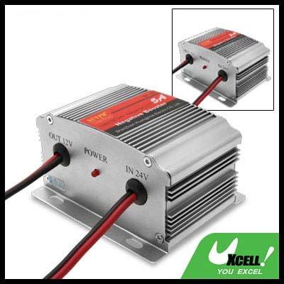 5A DC24V to DC12V Car Power Inverter Input 18V-32V