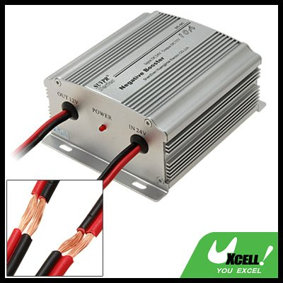 DC24V to DC12V 10A Car Power Inverter 18V-32V Input