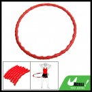 Portable Detachable Massage Sports Exercise Hoola Hula Hoop