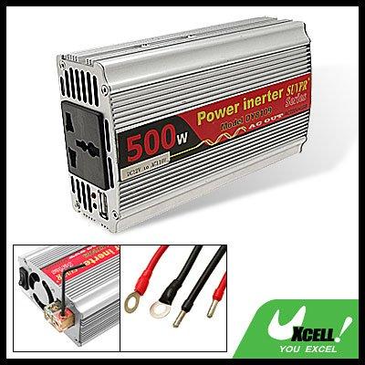 500W USB Port Car Automobile DC12V--AC110V Power Inverter Adapter