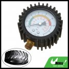 Dial Type Tire Pressure Gauge Garage Tool