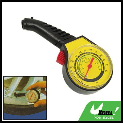 Auto Car Portable Tyre Tire PSI Pressure Gauge Tester