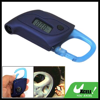 Mini Portable Car Auto Digital Tire Pressure Gauge