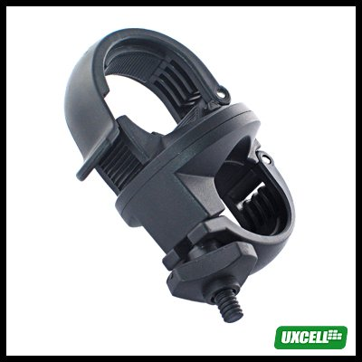 360 Degree Bicycle Bike Mount for CR123A Hand-held Flashlight