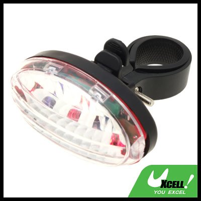 3 LED Bicycle Bike Front Rear Colorful Flash Light Lamp