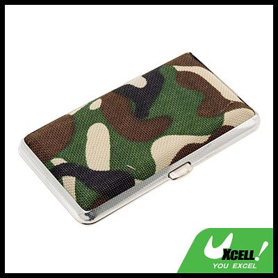 Camouflage Army Box Case Holder for 12 Cigarettes