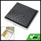 Metal Hard Leather Carrying Holder Case for 14pcs Cigarettes
