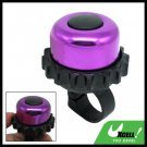 Mini Purple Black Columniform Bicycle Bike Bell