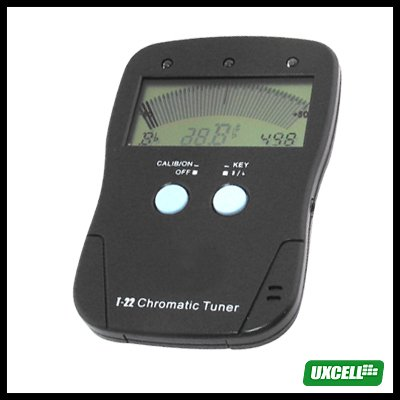 Chromatic Tuner + A4 Tone Generator for Guitar Violin (Musedo T-22)  Black
