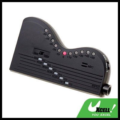 Guitar and Bass Tuner with Built-in microphone (Cherub T-24)