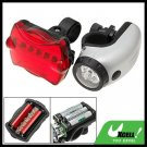 5 LED Bike Headlight 5 LED Rear Flashlight Bicycle Lamp