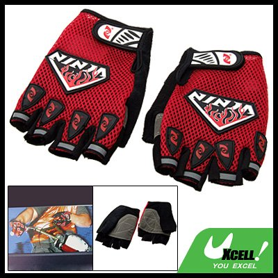 Netty Sports Half-Finger Mountain Bike Driving Gloves XL