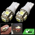 2 x 5 LED Auto Car Lamp 12V Vehicle Signal Lights