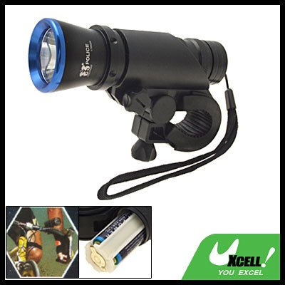 Bike Bicycle LED Front Lamp Light Hand Torch Flashlight