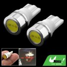 2 x 1 LED Car Auto Lamp Light Vehicle Signal Bulbs