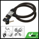 Coil Cable Bike Lock and Keys (15mm Dia x 800mm)