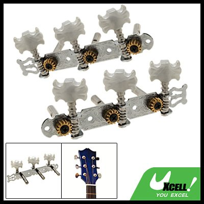 2 x Classical Guitar Tuning Keys Pegs Machine Tuner Heads