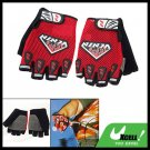 Sports Half-Finger Mountain Bike Cycling Gloves Size L