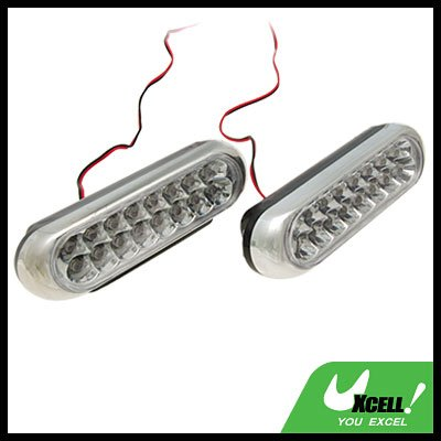 Universal Car Truck Van Lamp LED Day Light Red Blue 12V