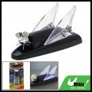 Wind Power Shark Fin LED Light Lamp Car Decoration