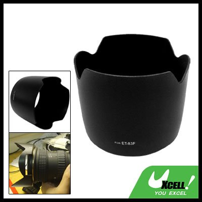 Lens Hood Black ET-83F for Camera Canon EF 24-70mm f/2.8L