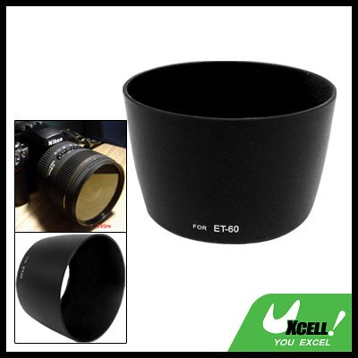 Black Lens Hood Mount ET-60 for Canon EF 75-300mm f/4.0-5.6 III