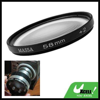 Close-up Attachment 58mm Lens f500mm Filter +2 for Nikon Canon Camera