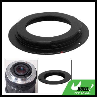 Black Aluminum M42 Lens Adapter Ring for Canon EOS 5D 40D 30D 20D
